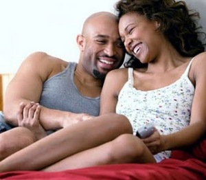 Happy Black Couple!