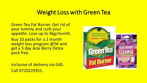 Green Tea Fat Burner OFFER