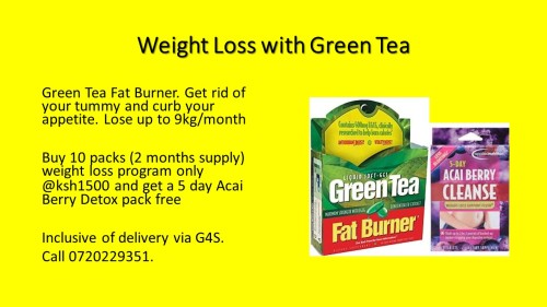 Green Tea Fat Burner EDIT 2018