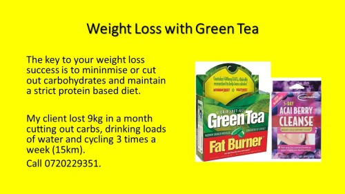 Green Tea Fat Burner II 2018