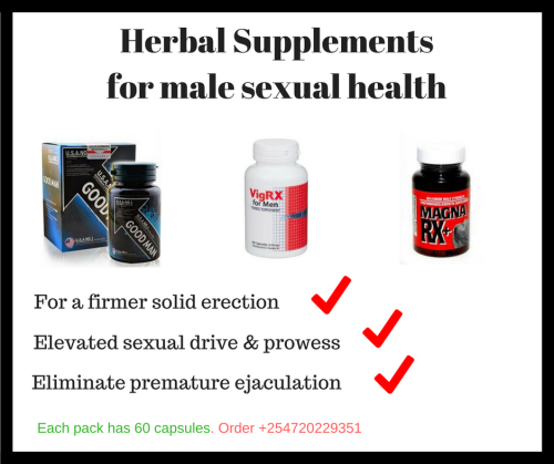 Herbal Supplemts for male sexual health