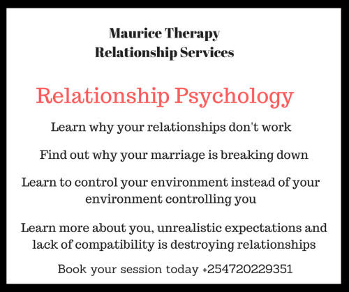 Maurice Therapy Relationship Services